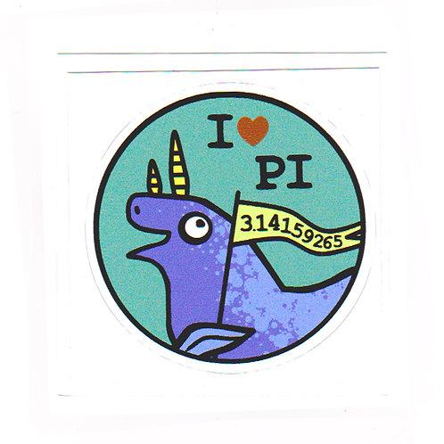 Pi - sticker
