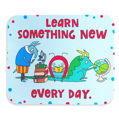 Learn Something - mousepad WS