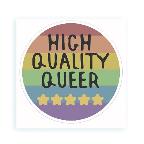 High Quality Queer - sticker