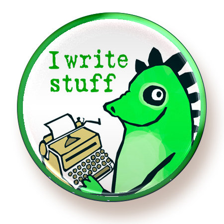 Write Stuff - button