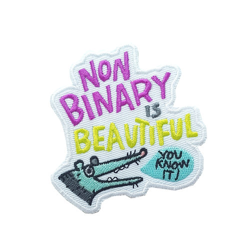 Non Binary is Beautiful - patch WS
