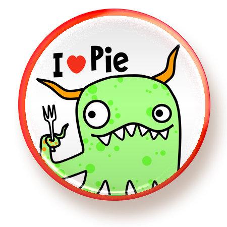 Pie - magnet