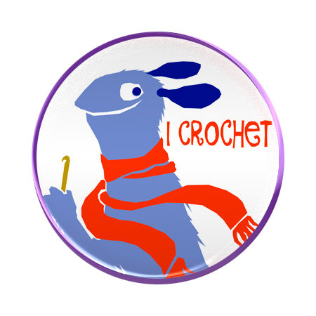 Crochet - magnet