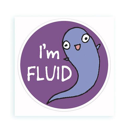 Fluid - sticker