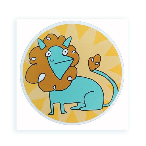 Lion - sticker