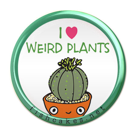 Weird Plants - button