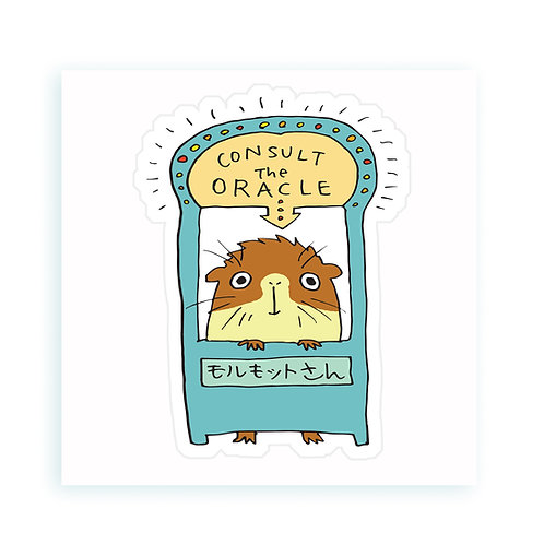 Oracle - sticker