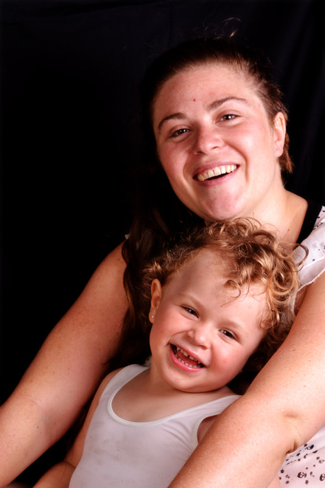 Sesión de fotografías madre e hija