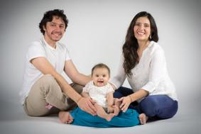 Sesión de fotografía familiar