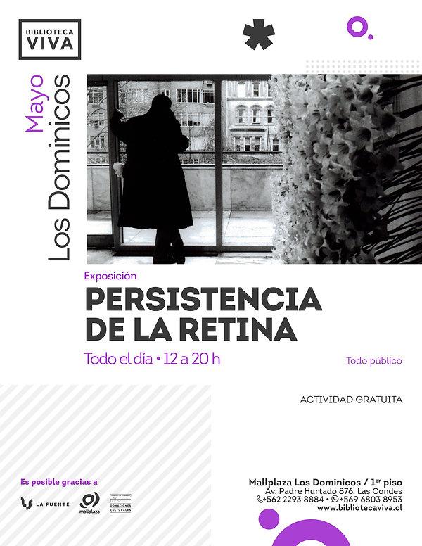 Afiche BVLD Mayo 2019 - Expo persistenci