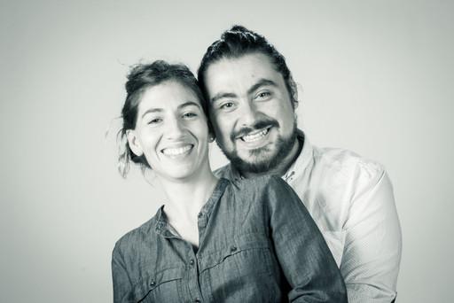 Sesión de fotografía para pareja