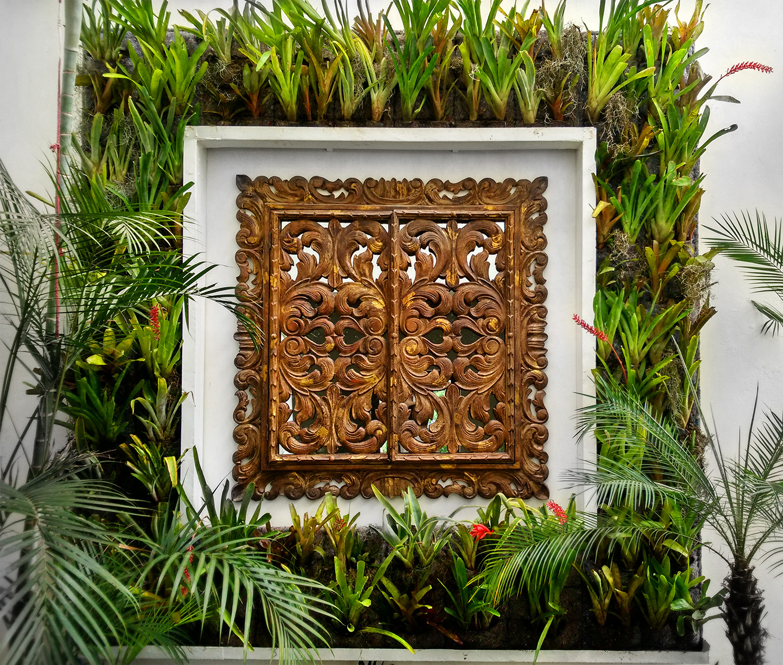 Jardin Vertical con Espejo