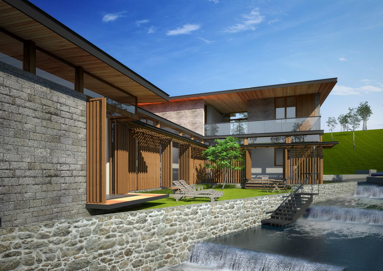 Stream House