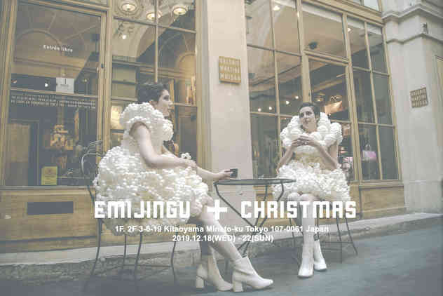 表参道個展【EMIJINGU+CHRISTMAS】
