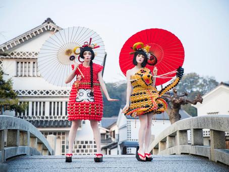 民芸品をバルーンファッションへ【地域をバルーンで】