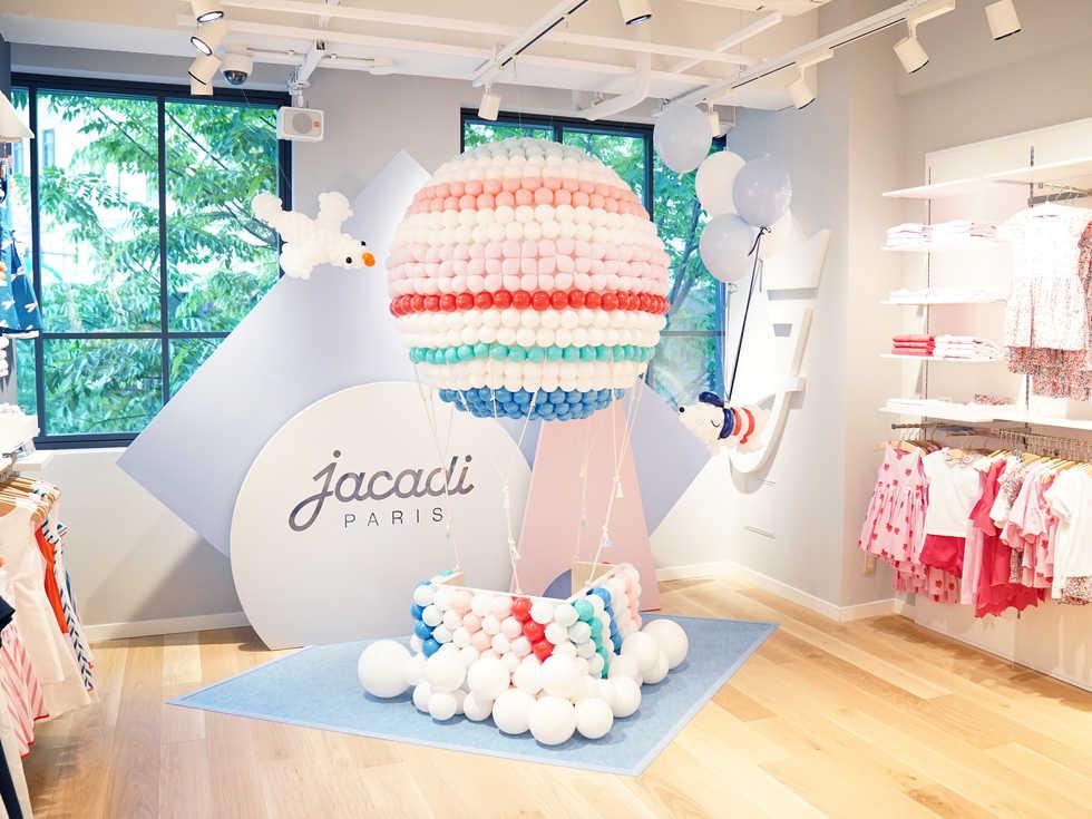 パリの子供服ブランドJacadi Paris 神戸店