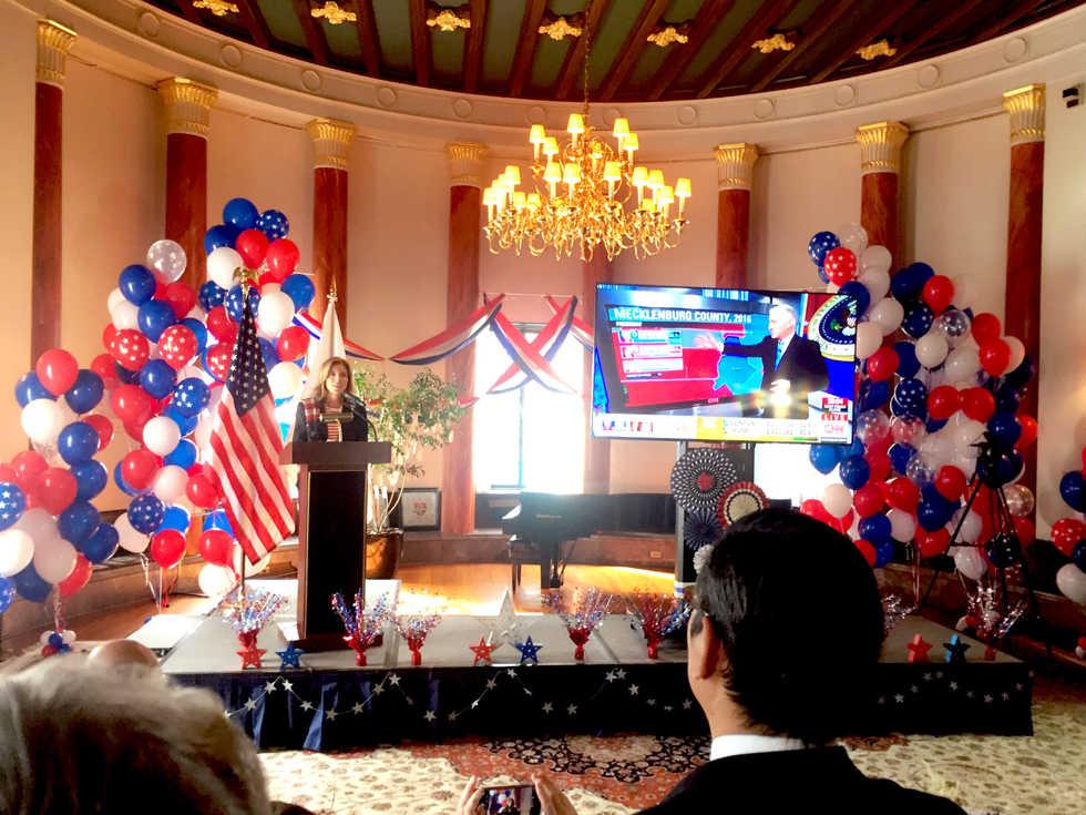 アメリカ大使館公邸大統領選