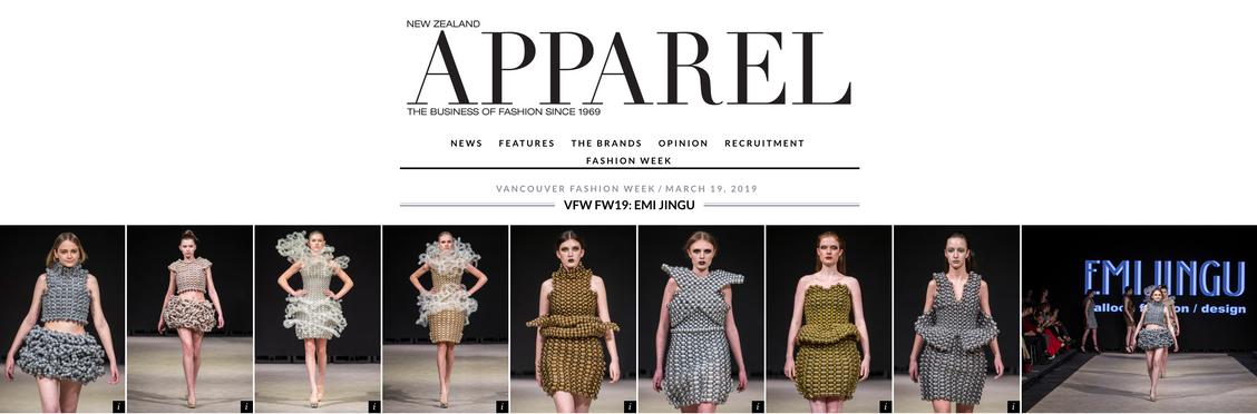 Apparel Magazine(New Zealand)-EMIJINGU-