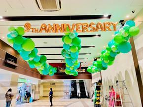 アイテラス落合南長崎9周年Anniversary装飾