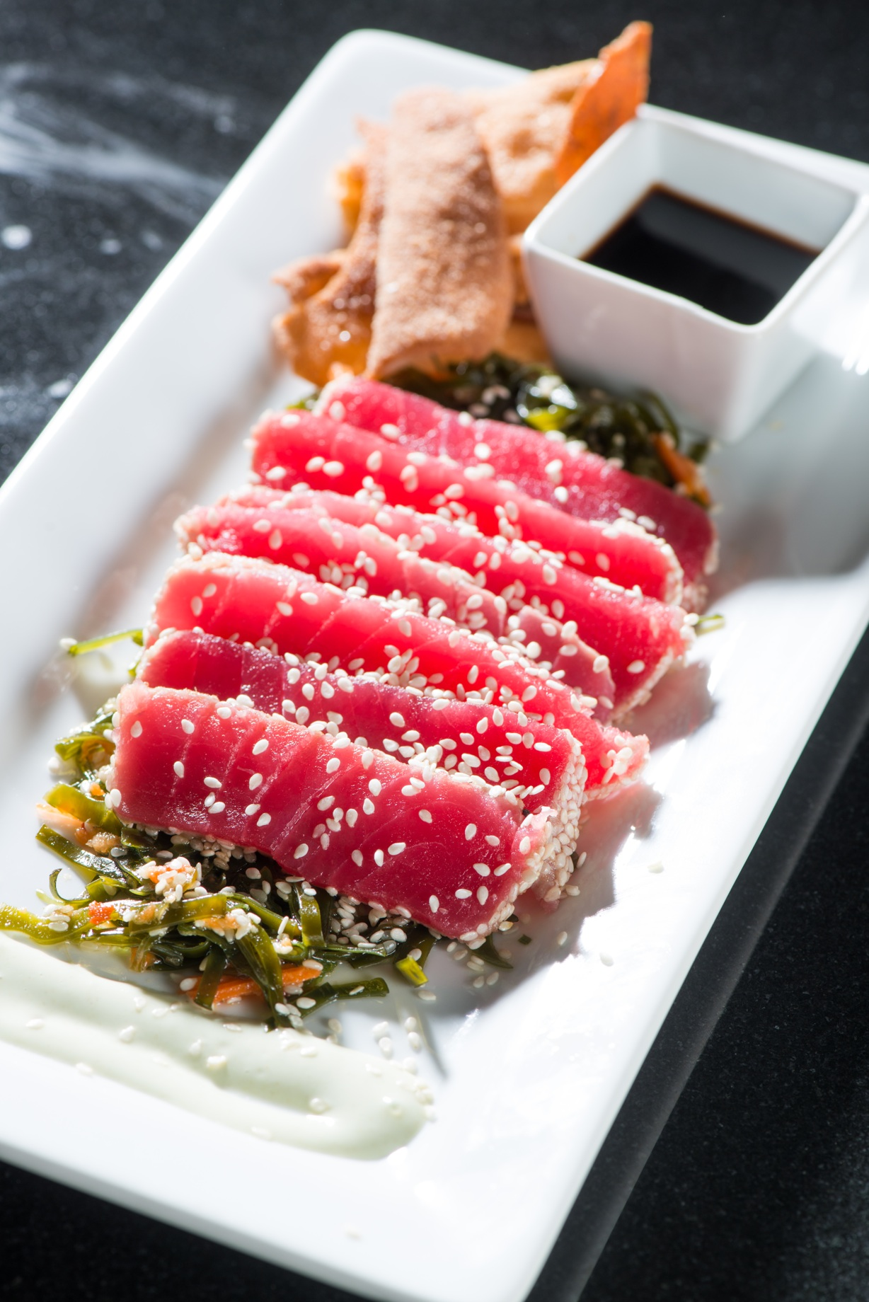 Sesame-Seared Ahi Tuna