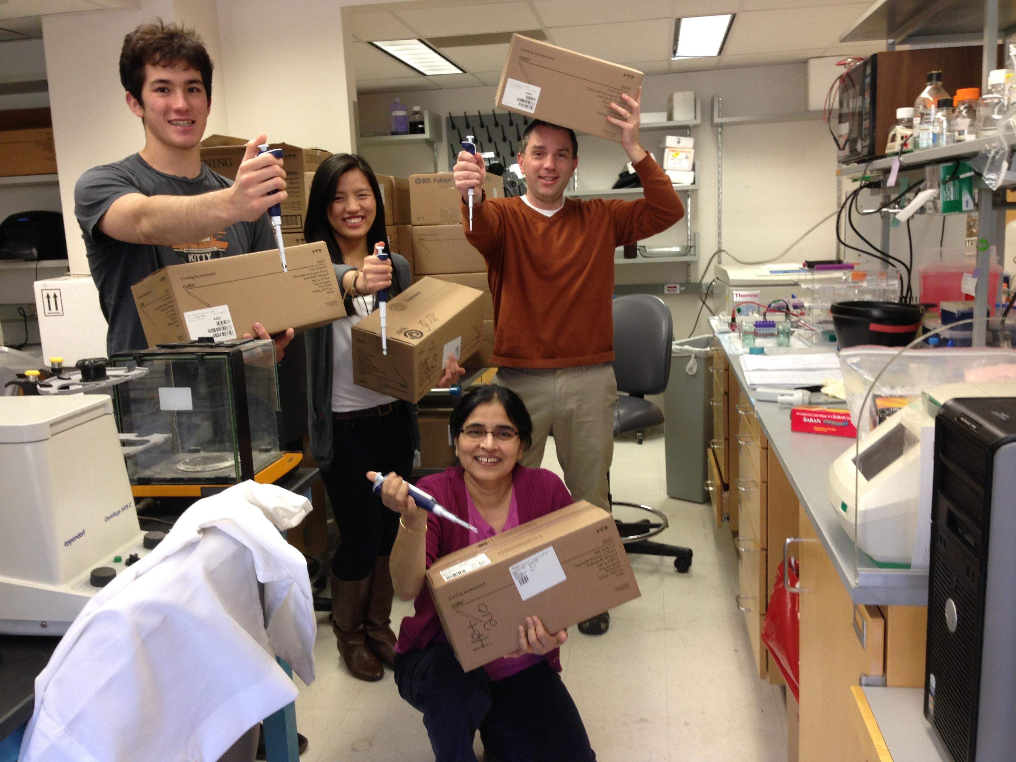 2013 group lab shot