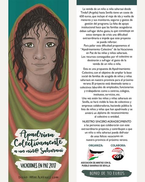 Marcapáginas Solidario Sahara