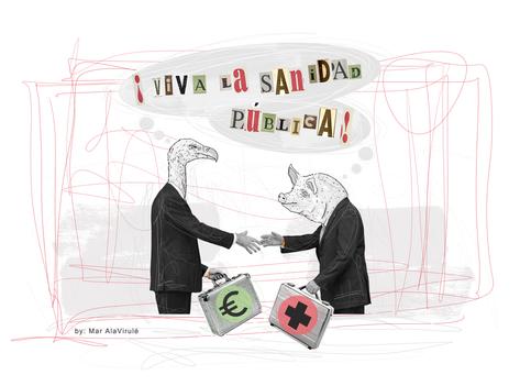 PENSAMIENTOS CUARENTENAMixed Media-Collage Digital-Mar Callejon-Mar AlaVirulé