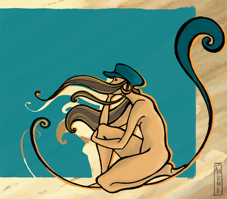 Mar Alavirulé-ilustracion