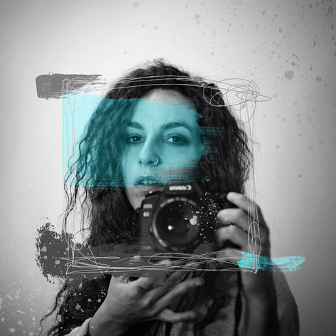 AUTORRETRATO-Mixed Media-Collage Digital-Mar Callejón-Mar AlaVirule