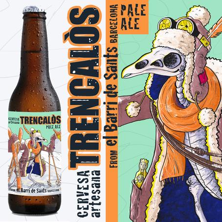 Ilustracion-Cerveza artesanal-Trencalòs