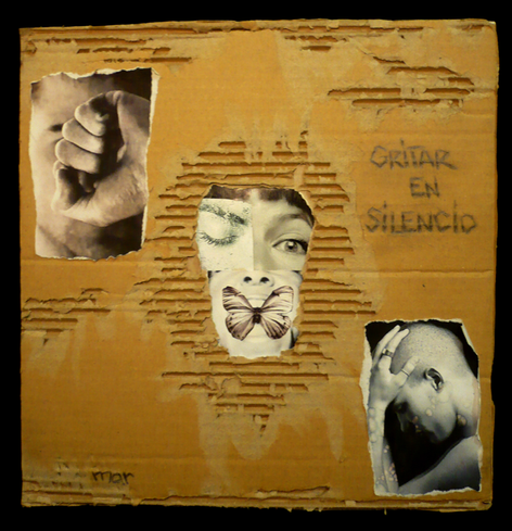 Gritar en Silencio-collage
