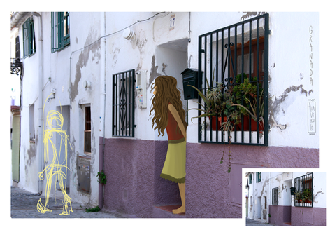 Calles de Granada- Proceso de Creación