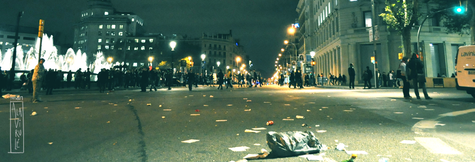 Post-Manifestación Barcelona