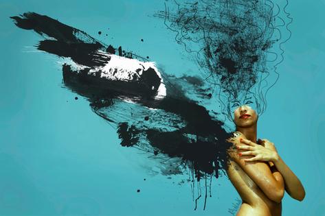 METAMORFOSIS-Mixed Media-Collage Digital-Mar Callejón-Mar AlaVirulé