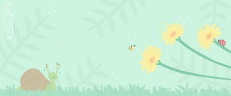 diseño-ilustracion-fondo-banner-primavera-farmàcia 3 cantons