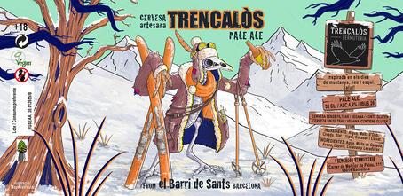 Ilustración- Cerveza Artesanal-Trencalòs-