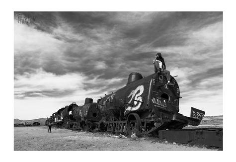 Cementerio de Trenes- Uyuni, Bolivia