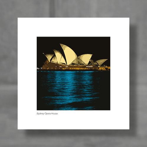 Sydney Opera House - Colour digital print
