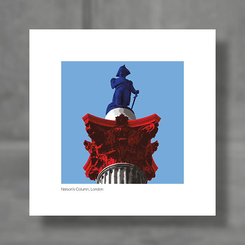 Nelson's Column, London - Colour digital print