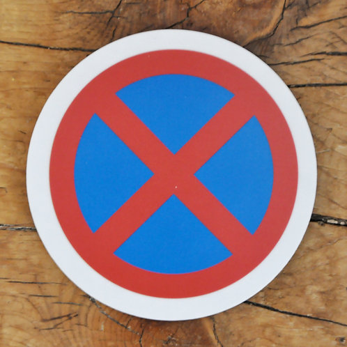 Road sign coasters - This and that