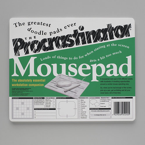 The Procrastinator Mousepad