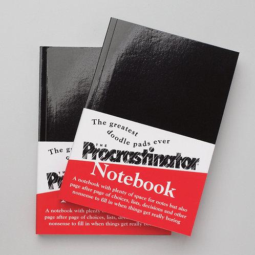 The Procrastinator Notebook: Pack of 24