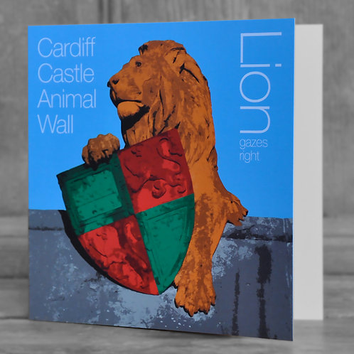 Cardiff Castle Animal Wall cards