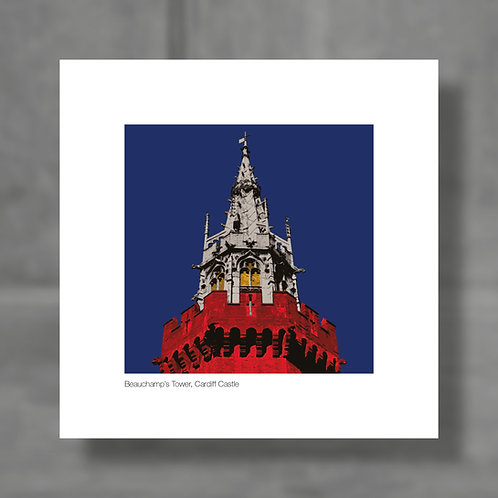 Beauchamp's Tower, Cardiff Castle - Colour digital print