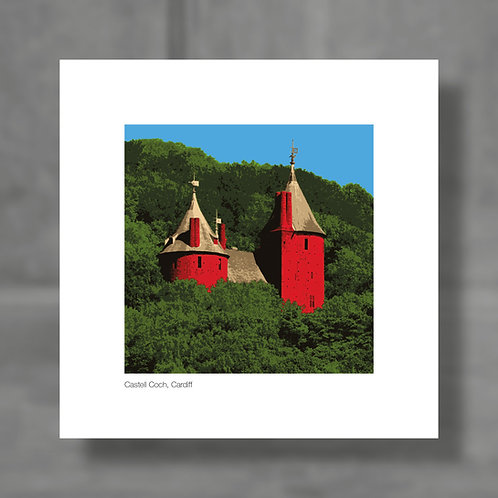 Castell Coch, Cardiff - Colour digital print