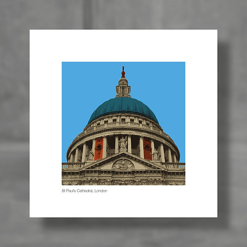 St Paul's Cathedral, London - Colour digital print