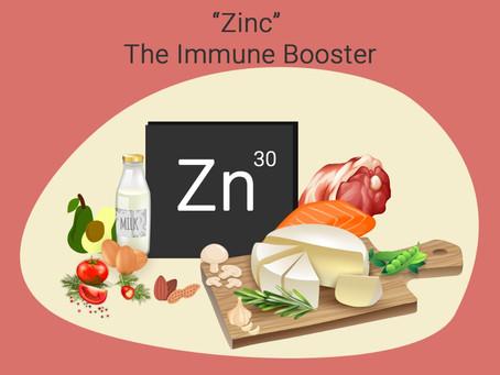 Zinc : An immunity booster