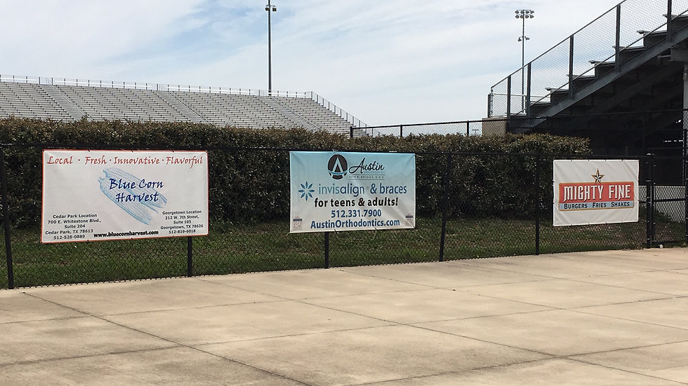 Outdoor Athletic Banner