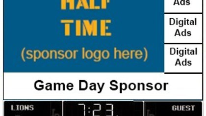 Half Time Sponsor