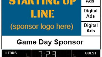 Starting Line Up Sponsor